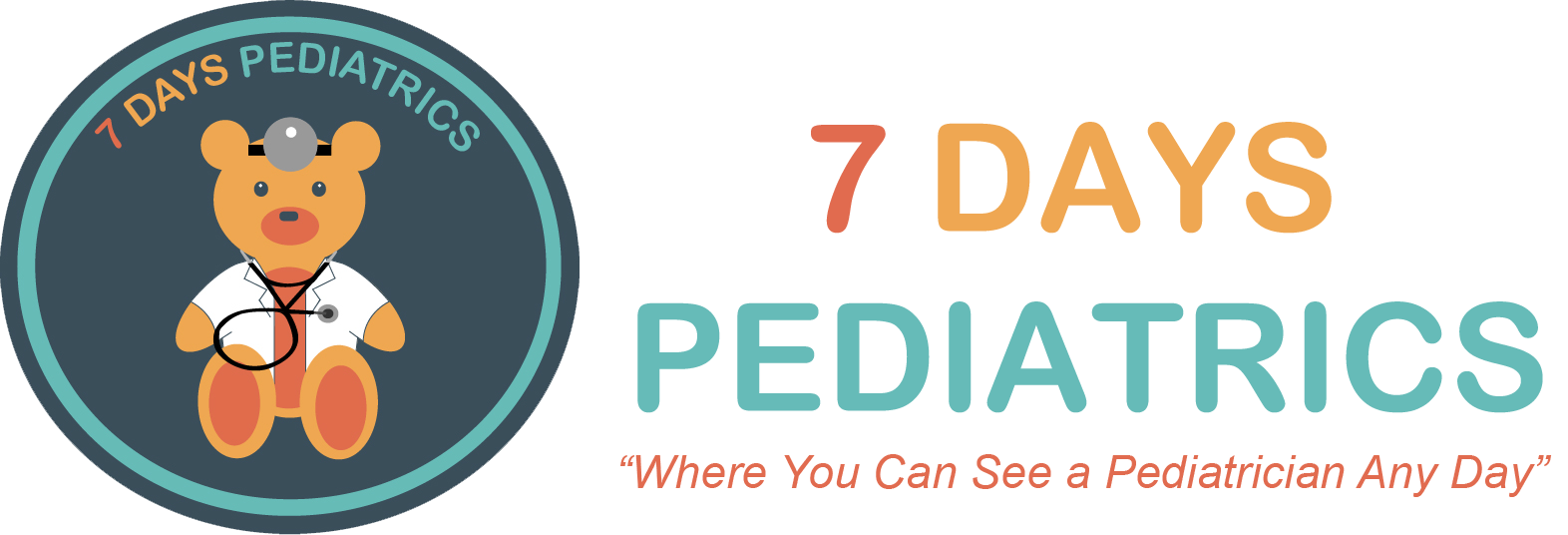 7 Days Pediatrics Logo