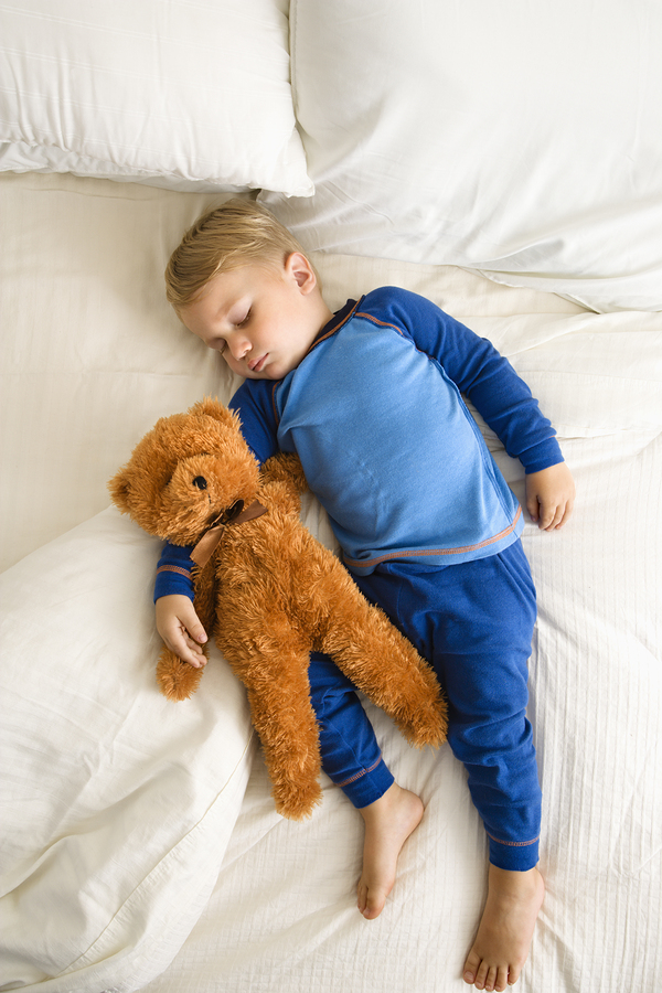Bedwetting child